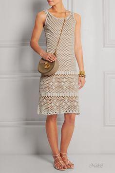 Michael Kors - Vestido de Crochet