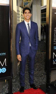 "Dev Patel at the LA premiere of HBO's ""The Newsroom"" toyastales.blogspot.com"