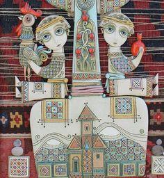 Цолак Шагинян родился в 1964 году в армянском городе Гюмри. Мастерство художника постигал с 1980 года в колледже искусств, а затем в Академии искусств в Ереване, где специализировался на керамике. Цолак предпочитает в тёплые месяцы заниматься живописью и гобеленами, а холодной зимой — керамикой, которая стала для него настоящей душевной страстью. Мастер находит работу с ней расслабляющей, медитативной.