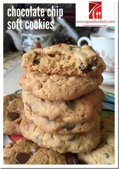 Classic Soft Chocolate Chip Cookies (软巧克力豆饼干) #kenneth_goh    #guaishushu #chocolate_chips_cookies