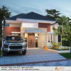 House Front Design, Modern House Design, Minimalis House Design, Urban Interior Design, Beautiful House Plans, Decor Home Living Room, 3d Home, Facade House, Home Design Plans