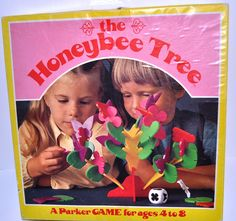 Vintage Honey Bee Tree Game By Parker Brothers- I hopefully will be getting mine out of storage this spring for Sebastian.