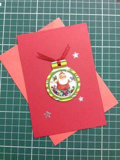 Cartão de natal em scrapbooking #scrapmaximo