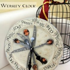 Because I know I'm the only one that wanted a clock like the Weasleys from the Harry Potter Books and Films.