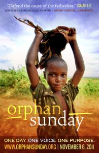 Orphan Sunday...Join everyone on Nov. 6 to raise awareness and pray for all the fatherless around the world. Pray for comfort, protection, peace, love and a forever family!