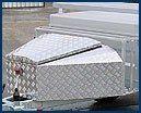 trailer Accessories - Nose Cone Aluminum
