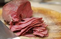 If you have a hunter in your house, you absolutely must try brining a roast for a week before cooking. If you have a hunter in your house, you absolutely must try brining a roast for a week before cooking. Corned Venison Recipe, Venison Recipes, Sausage Recipes, Cooking Venison, Venison Meat, Cooking Bacon, Smoker Recipes, Cooking Turkey, Corned Beef