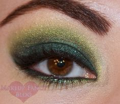 Makeup Fancy: Gorgeous Greens with BFTE and Urban Decay