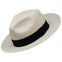 Panama Montecristi Hat - Fedora for Men (Grade - Fedora Ecuador, Straw Hats, Grad, Fedora Hat, Hats For Men, Hand Weaving, The Incredibles, Mens Fashion, Natural