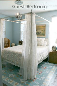Mom, this is the color blue you should paint your guest room :)