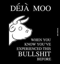 Deja Moo...