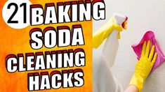 In this video I'm going to show you 21 Genius Baking Soda Cleaning Hacks for Your Home Baking Soda or Sodium Bicarbonate is one of the most versatile ingredients in your kitchen. Everyone knows that baking soda is widely used in baking. But very few know the uses for baking soda within the home. It's natural and inexpensive, and has a rich history of being used as cleanser, soother, and deodorizer.