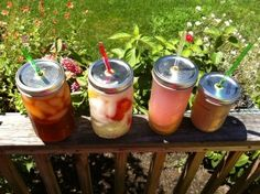 This week at the Attleboro Farmers Market  Juice Jars top view Mason Jars for sipping summer drinks are back! Weather looks good for another great day to visit the Market. The Attleboro Farmers market Mason Jars with straws for sipping cold drinks are back
