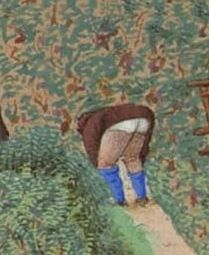 Bottoms up! Early 15thc Jean Duc de Berry
