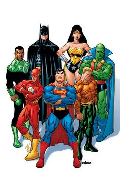"""Justice League. """"That's right, we bad!"""""""