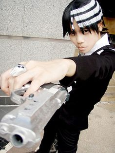 Death the Kid cosplay from Soul Eater