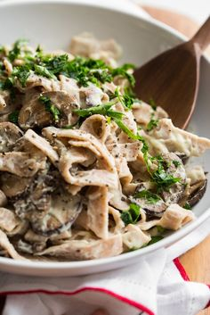 "Cauli power Fettuccine ""Alfredo"" (Vegan)"