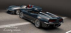 Corvette luxury speedster #corvette #zollanddesign Volvo Amazon, Bike Design, Corvette, Mustang, Ford, Racing, Luxury, Vehicles, Running
