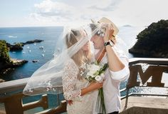 Wedding in Lerici and the Gulf of La Spezia and Portovenere.  The perfect frame an intimate Italian Riviera wedding