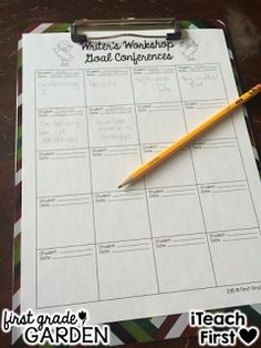 iTeach First: 1st Grade Teaching Resources: Show and Tell Saturday - Writer's Workshop by Amanda {First Grade Garden}