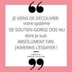 Merci Camille pour ce message ! 😊#backtoglam #glamendosnu #dosnu #robedosnu #temoignage #fashion #musthave #lingerie #mariée #bridal #weekend #magic #creation #magnifique #bridetobe #soutiengorgedosnu #ledosestlenouveaudecollete #soutiengorge #dosnuaddict #glamgirl #Paris #fan #glamgirl #glamgirls#moodoftheday #mood #motd #friday Camille, Messages, Lingerie, Mood, Fan, Instagram, Backless Bra, Backless Wedding Dresses, Thanks