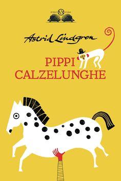 Liuna Virardi. Pippi Calzelunghe  Salani cover book contest
