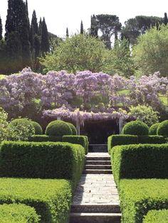 Villa La Foce, Tuscany, Italy