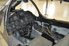 F-8 Crusader's cockpit #flickr #plane #1960s