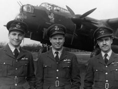 Guy Gibson standing in front of his Lancaster 'Admiral Prune'. Ww2 Aircraft, Military Aircraft, Danny Collins, Air Force Bomber, Lancaster Bomber, Battle Of Britain, Fighter Pilot, Royal Air Force, Luftwaffe