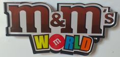 Angleterre - Londres août 2013 : M&M's World, le célèbre magasin de confiseries du même nom.