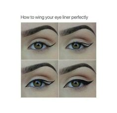 How to wing your eye liner perfectly