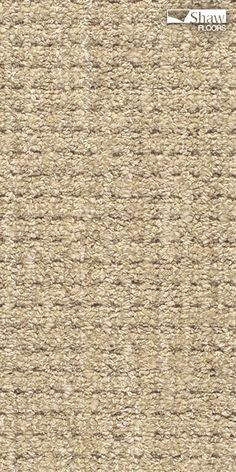 "Perfect kid-friendly carpeting is built for play, and comfort. Stain-resistant ""Natural Boucle"" has the look, feel and durability to stay beautiful throughout all life's misadventures. Pictured in Sisal."