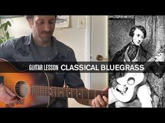 Classical Bluegrass: Learn How to Flatpick a Matteo Carcassi Etude on Steel-String Acoustic Guitar - YouTube