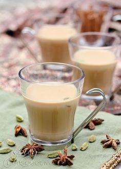 Authentic Chai | ASpicyPerspective.com #drinks #tea #chai