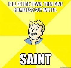 Fallout 3 logic.