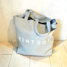 "Our light weight ""Pintxos"" canvas tote is perfect for carrying pretty much everything! 