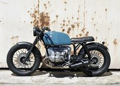 WEBSTA @ caferacerdreams - #crd51 by @caferacerdreams #motorcycle #motorcycles #crd #caferacerdreams #bmw #r100 #blue #classic #classy