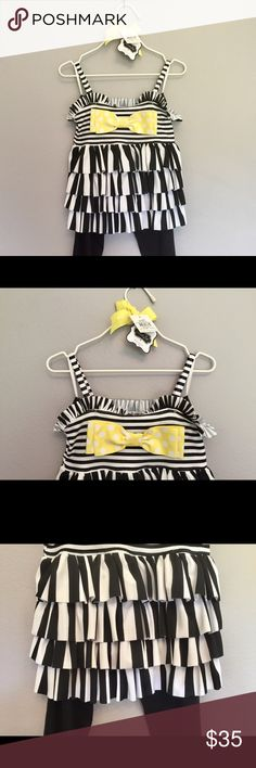 "Mudpie dress and legging set ""mudpie"" dress and legging set. NWT. Mud Pie Matching Sets"