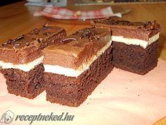 Treat sized mars bar slice is Friday's My Recipes, Sweet Recipes, Cooking Recipes, Buckeye Brownies, Brownie Bites Recipe, Recipe Details, Cacao, Bakery, Sweet Treats