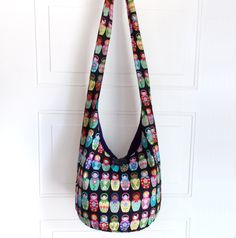 Crossbody Bag Hobo Bag Sling Bag Hippie Purse Boho door 2LeftHandz