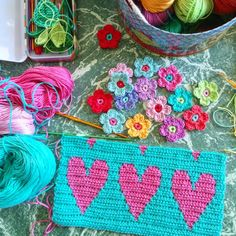 Colourful inspiration @ little woollie