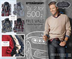 Skjorter og/eller Pull-overs   Large   NIELSENs (299,50 kr., 2 for 500 kr.)