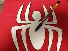 Spider-Man Logo Template | Brady Lou: Project Guru