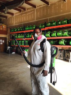#GhostBusters  No way its Brian on the way to a #Mold #Mitigation #servpro
