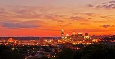 """Cincinnati at Golden Hour"" by Timothy Meredith"