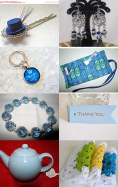 All your favorite blue items for sale here in one convenient spot. Many discounts. Click the picture and follow the prompts --Pinned with TreasuryPin.com