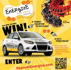 The Peanuts Energize Your World Sweepstakes