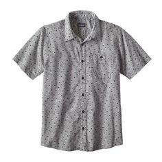 Patagonia Men's Go To Shirt White/Jellyfish Small XXL