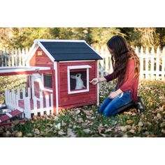 You'll love the The White Picket Fence Rabbit Hutch at Wayfair - Great Deals on all Pets products with Free Shipping on most stuff, even the big stuff.