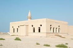 Abandoned Mosque In An Abandoned City, Al Jazirat Al Hamra, Ras Al Khaimah, UAE